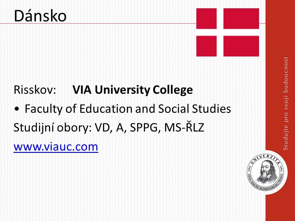 Španělsko Pamplona: Universidad de Navarra Faculty of Philosophy and Social Sciences Studijní obory: A, VD, SPPG www.unav.edu !Studium možné pouze ve španělštině.