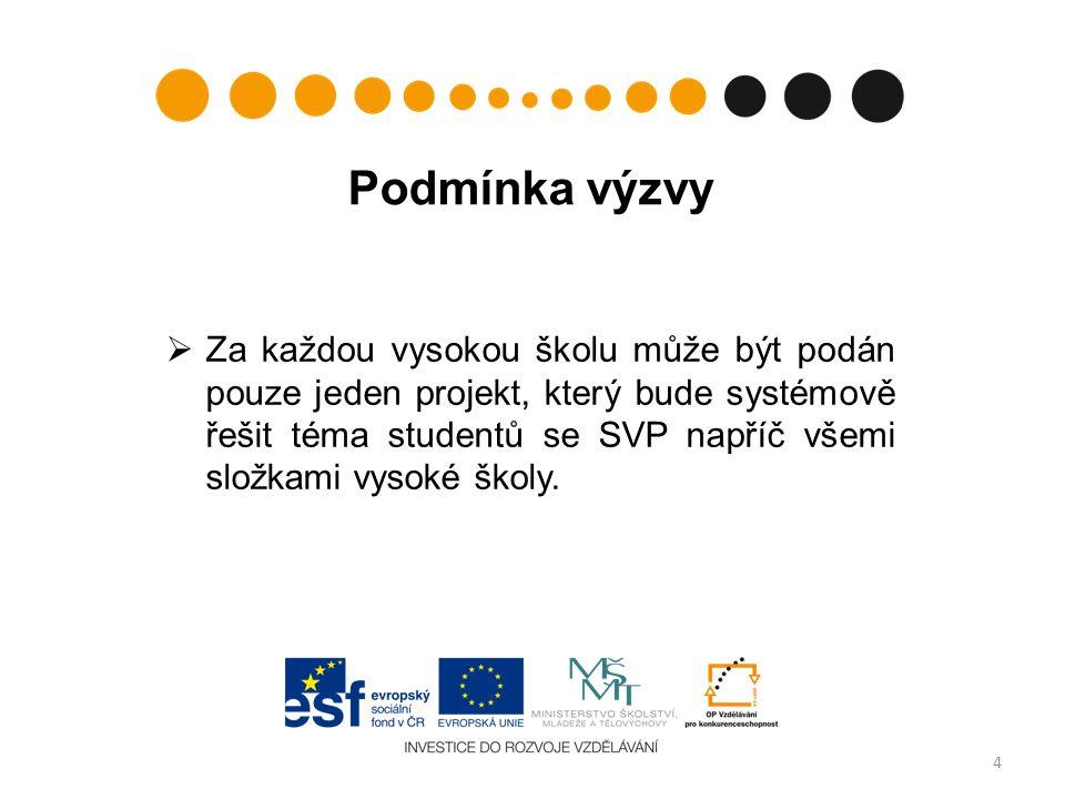 Obecně závěrem Nebudou-li navržené klíčové aktivity projektu v souladu s podporovanými aktivitami, není možné projekt podpořit.