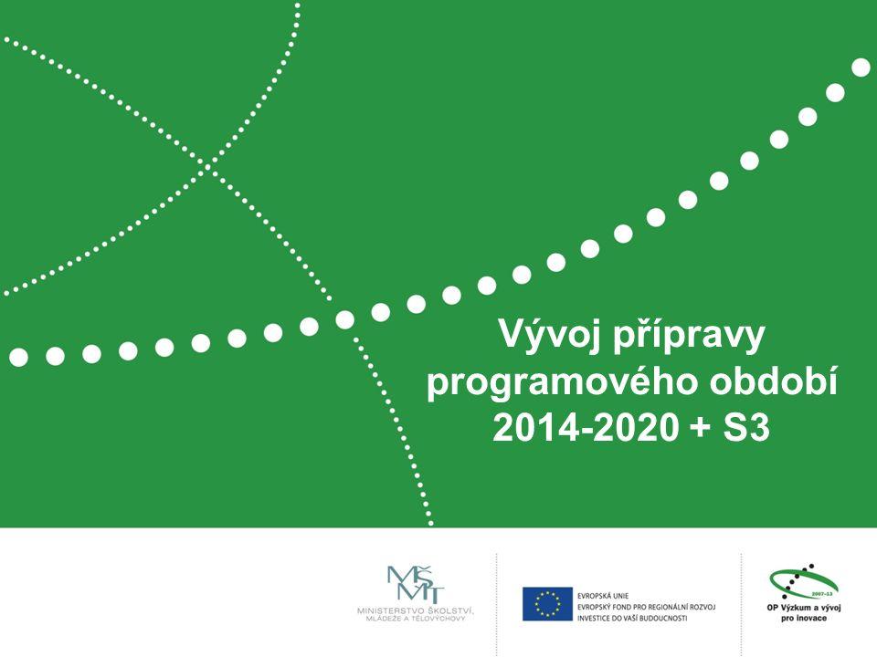 Vývoj přípravy programového období 2014-2020 + S3