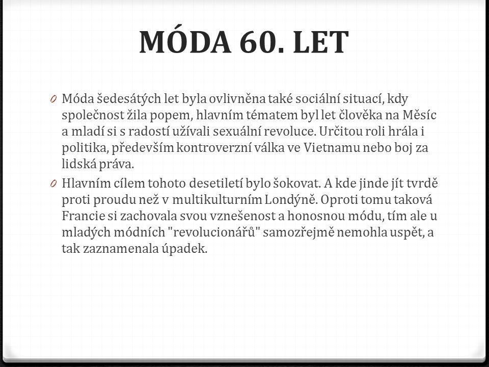 MÓDA 60.