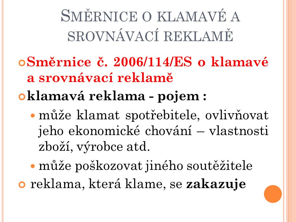 Směrnice č.