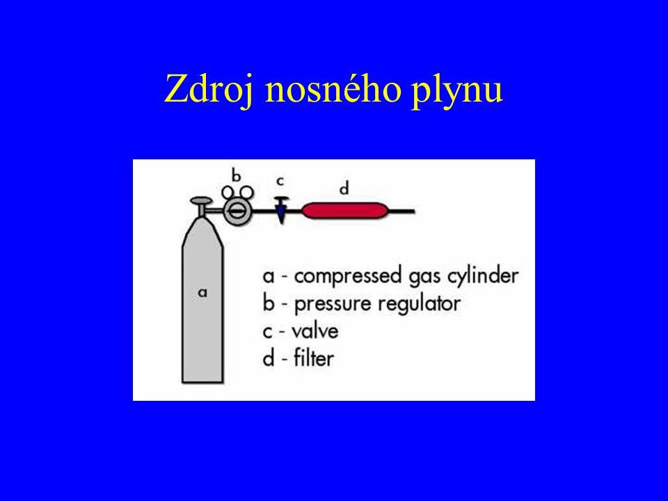 Zdroj nosného plynu