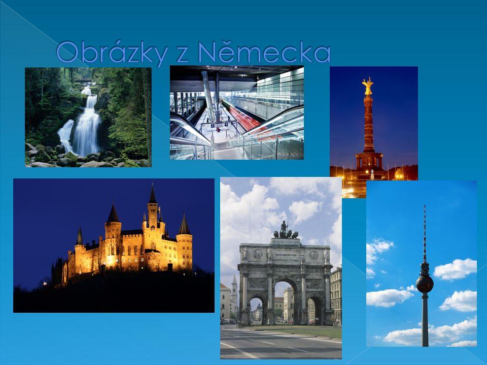  Berlín  Rýn  Albert Einstein Hlavním městem Německa Největší německá řeka Slavný vědec