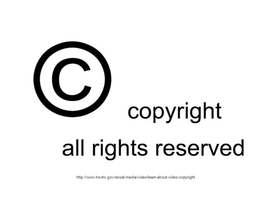 http://www.howto.gov/social-media/video/learn-about-video-copyright