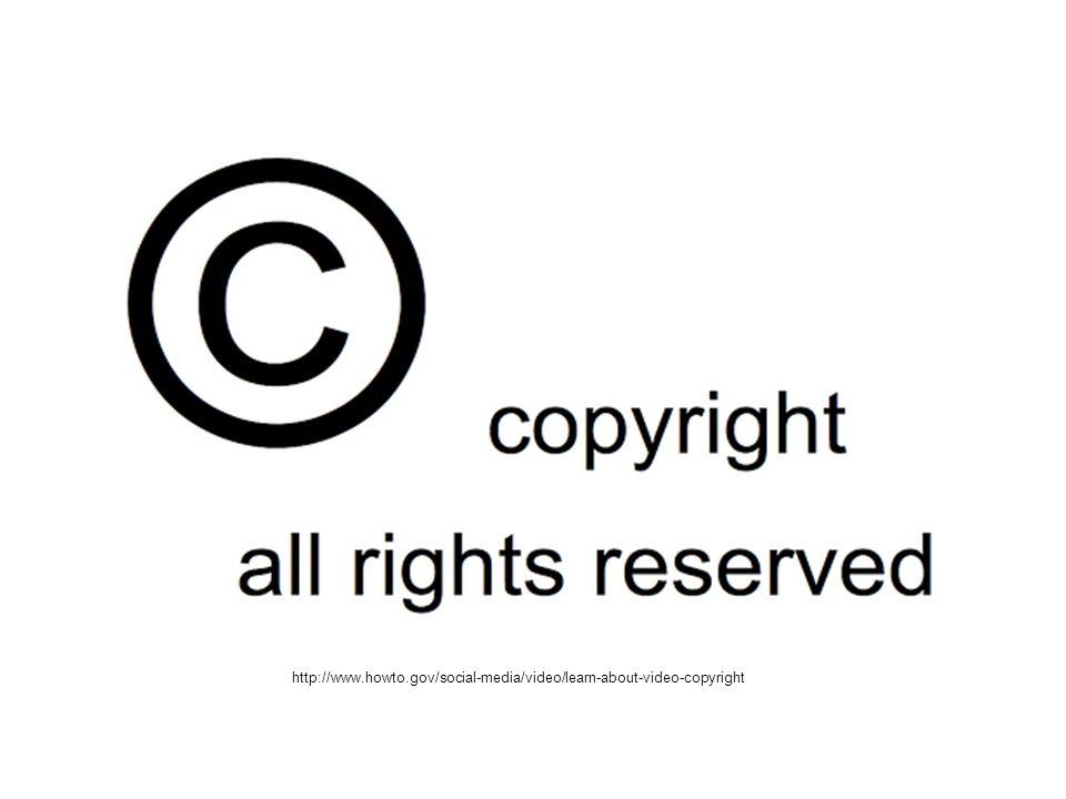 Autorská práva Autorské právo výslovně dovoluje některé specifické způsoby využívání díla.
