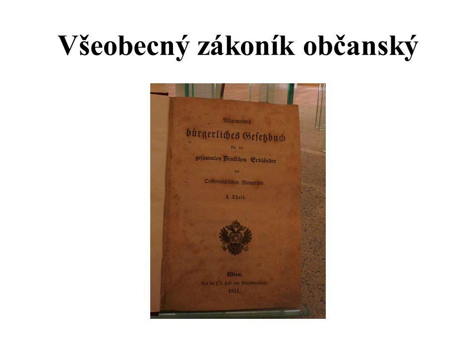 Všeobecný zákoník občanský