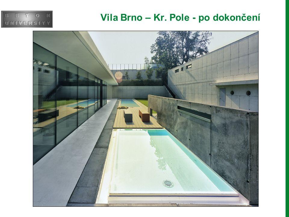 Vila Brno – Kr. Pole - po dokončení