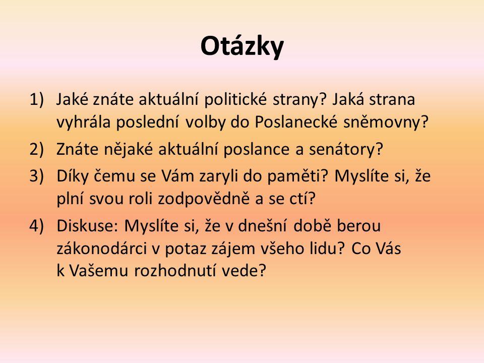 Použité zdroje DUDÁK, Vladislav.Občanská nauka pro střední odborná učiliště: Vladislav Dudák...