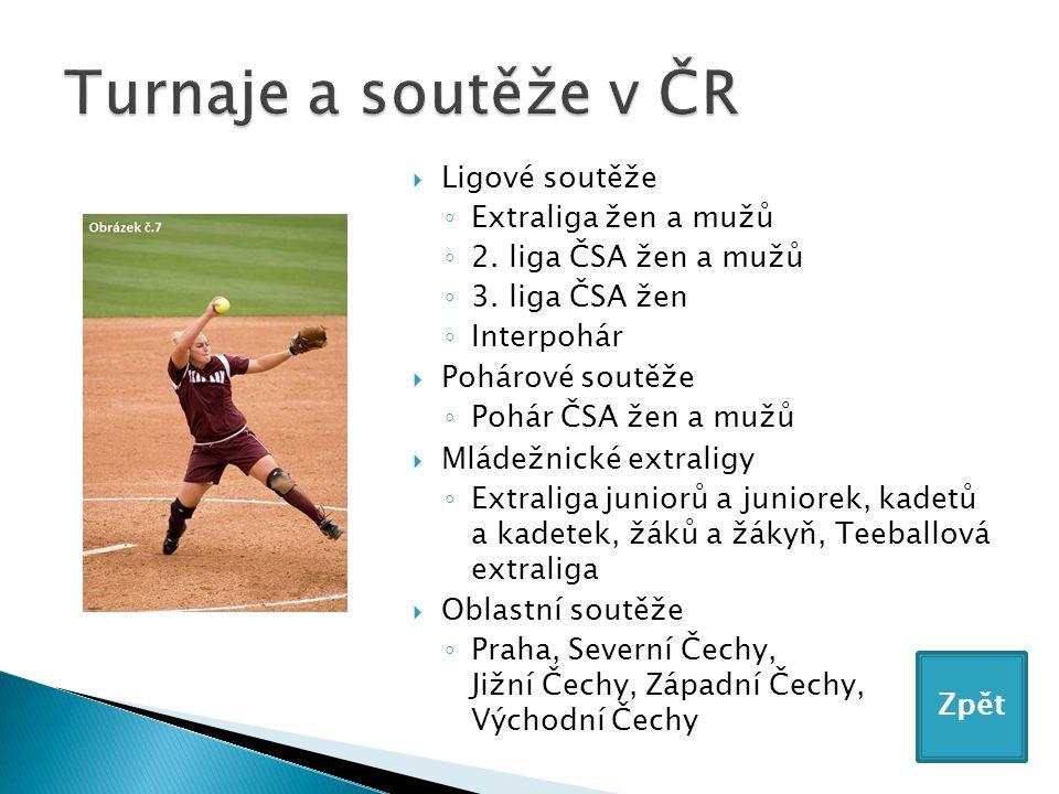 Ligové soutěže ◦ Extraliga žen a mužů ◦ 2. liga ČSA žen a mužů ◦ 3.
