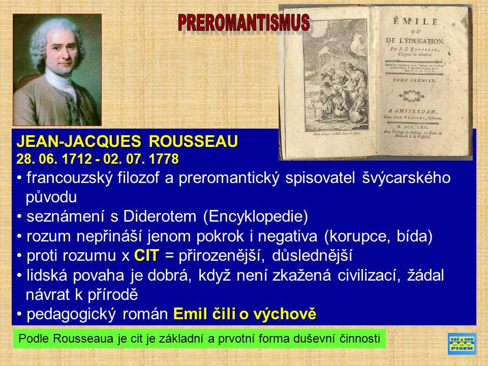 JEAN-JACQUES ROUSSEAU 28. 06. 1712 - 02. 07.