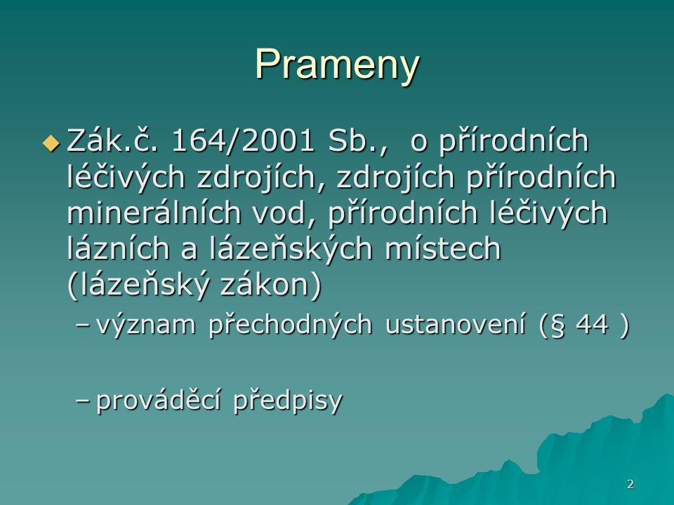 2 Prameny  Zák.č.