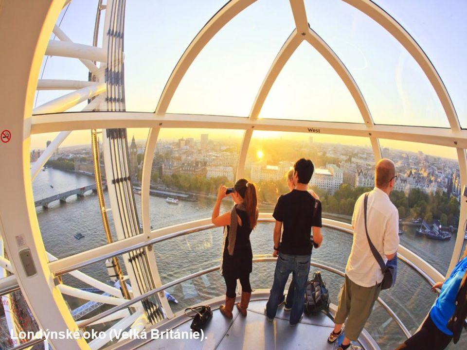 Londýnské oko (Velká Británie).