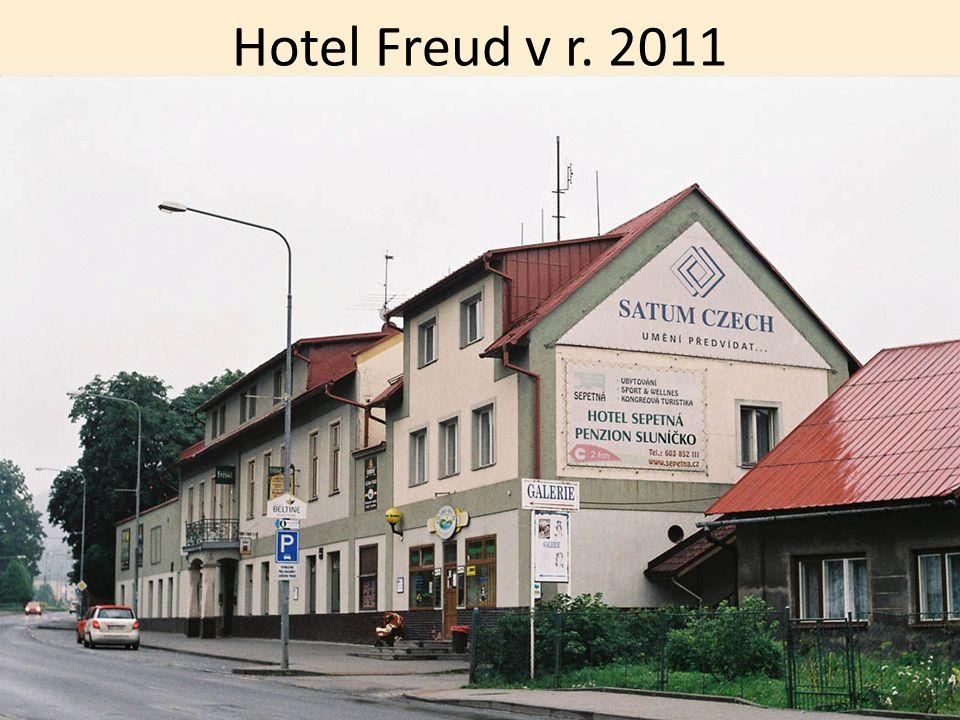 NÁDRAŽÍ OSTRAVICE pila a hotel Freud