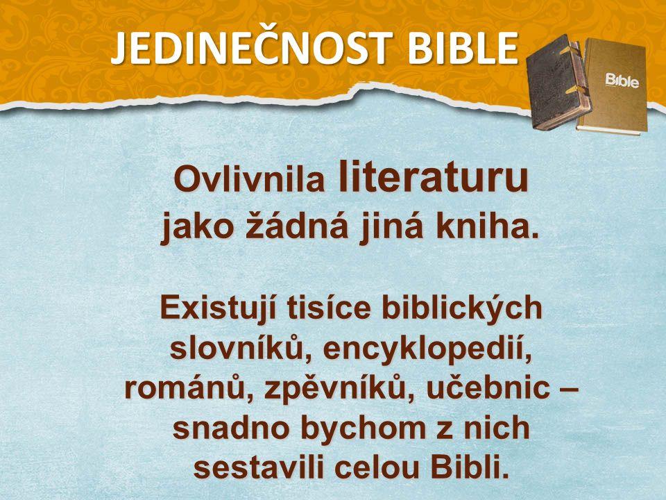 Ovlivnila literaturu jako žádná jiná kniha.