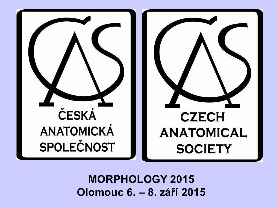 MORPHOLOGY 2015 Olomouc 6. – 8. září 2015