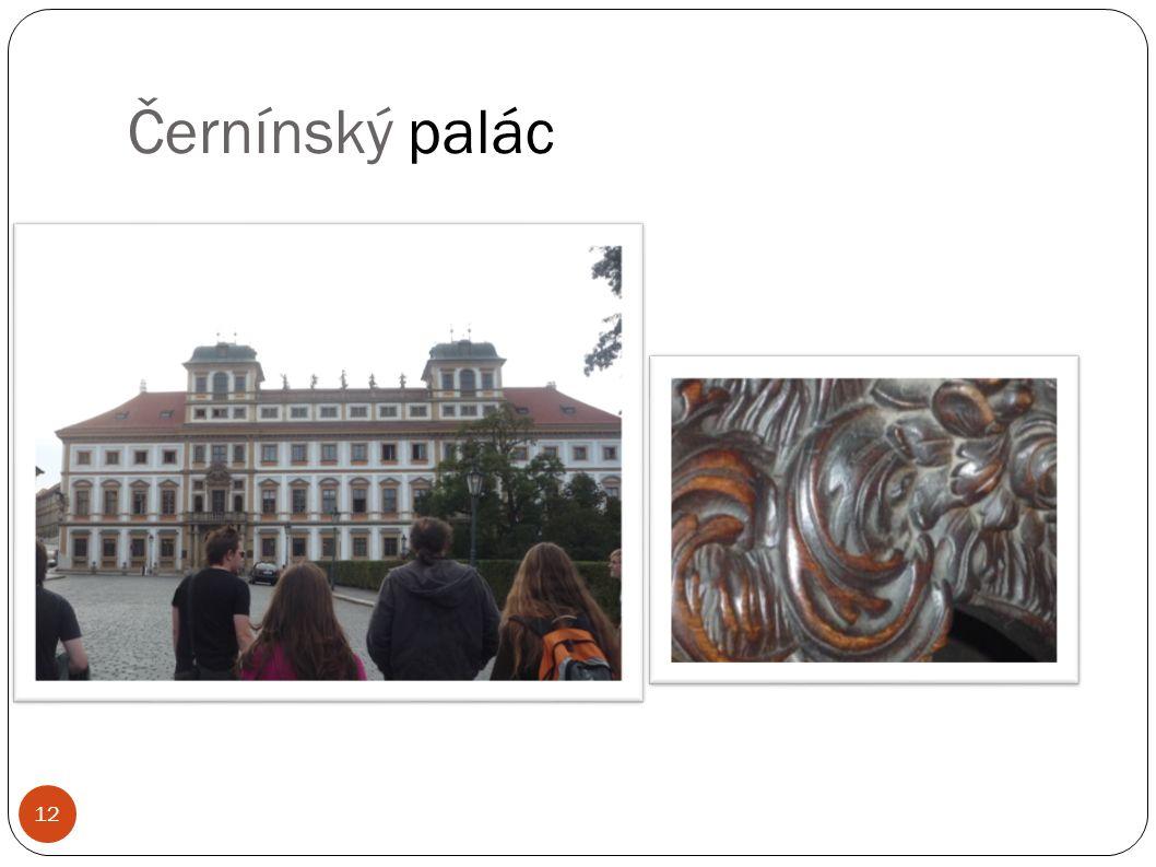Černínský palác 12