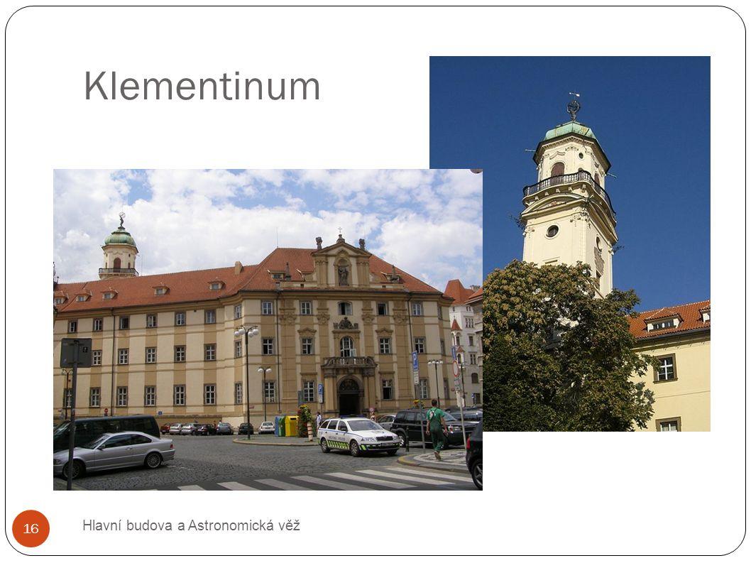 Klementinum Hlavní budova a Astronomická věž 16