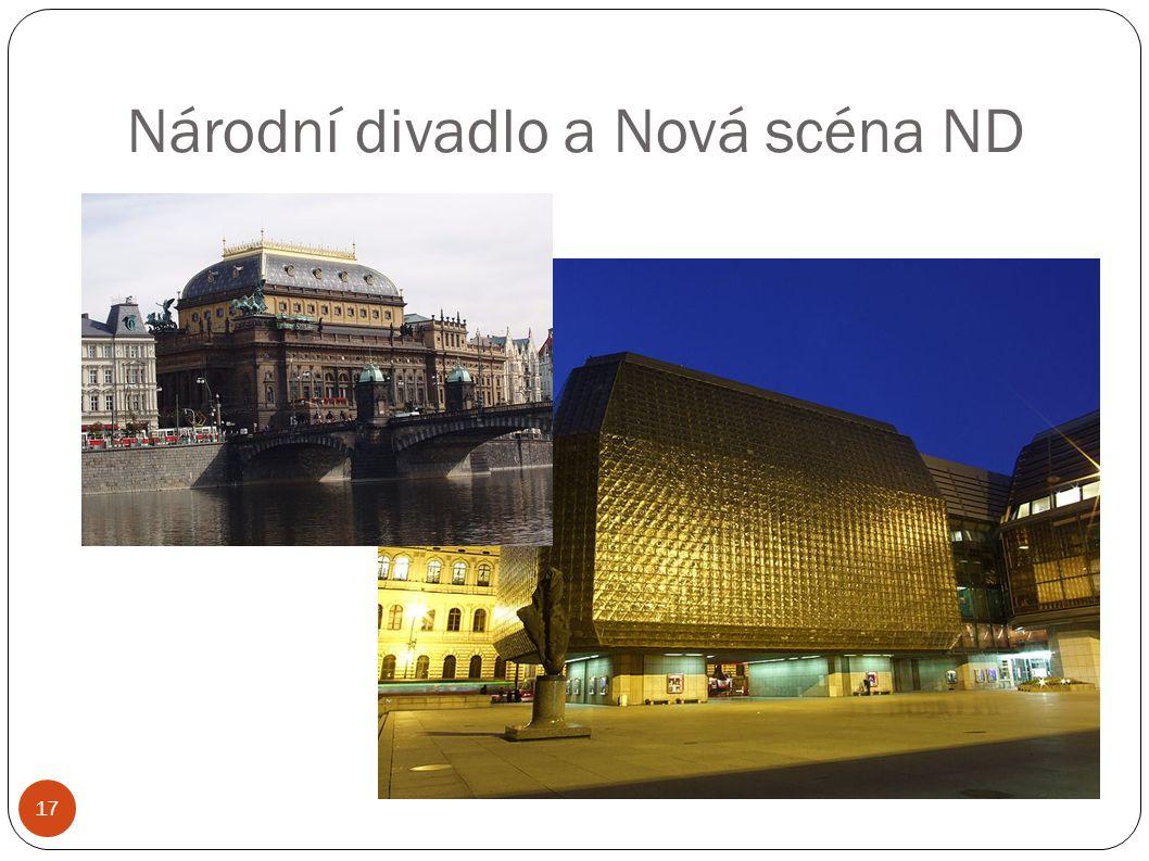 Národní divadlo a Nová scéna ND 17