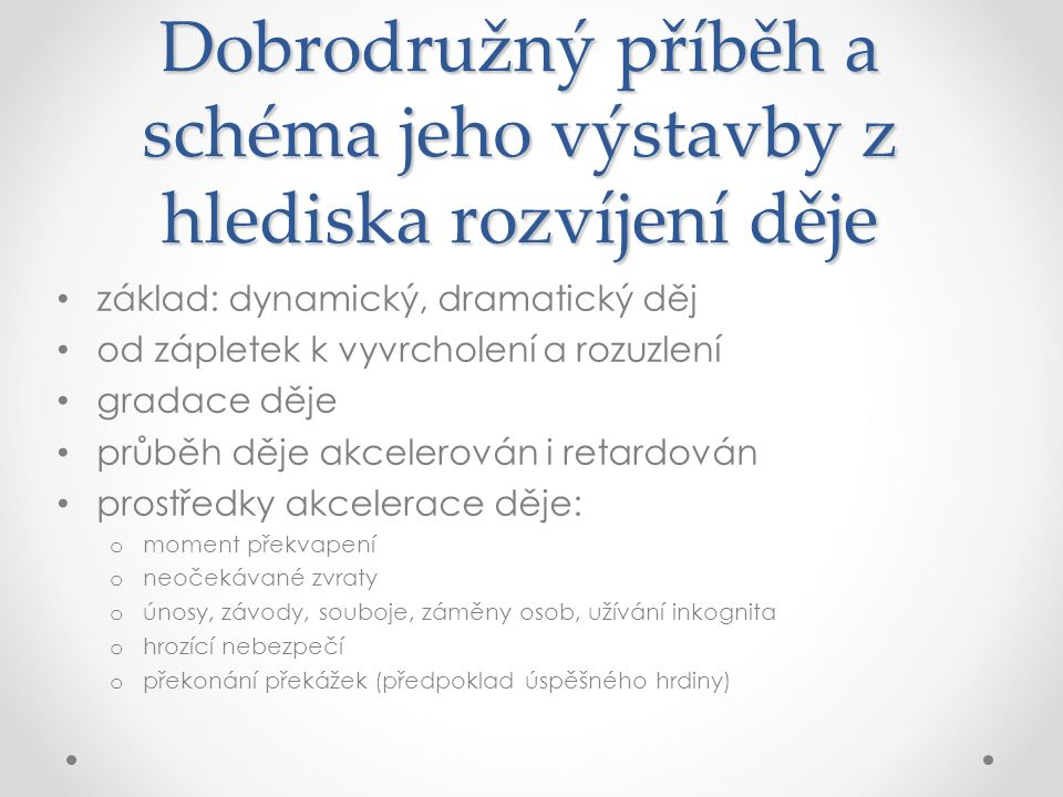 Literatura Čeňková, J.Vývoj literatury pro děti a mládež a její žánrové struktury.