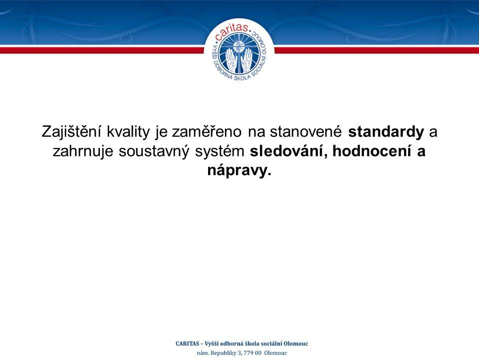 Hodnocení, evaluace Systematický sběr informací.Pravidelné prověřování a posuzování.
