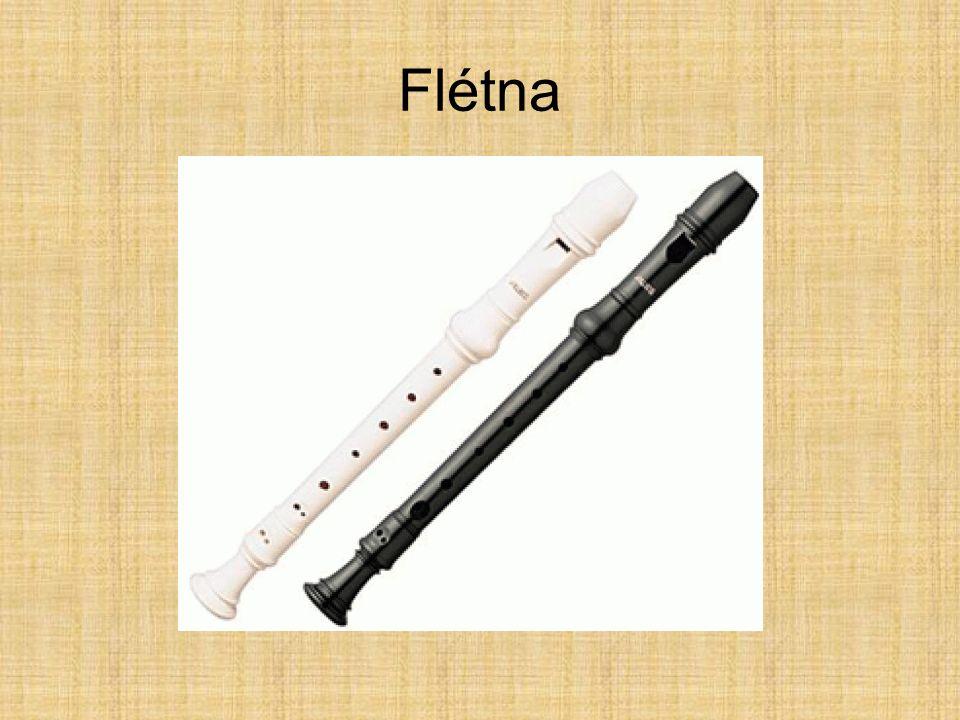 Jeden z nejstarších hudebních nástrojů (již u Egypťanů, Indů, Číňanů) Vyráběla se z bambusu, kokosového, zimostrázového či ebenového dřeva (dnes také ze speciálního kovu) Známe: zobcovou a příčnou Dělení: sopránová, altová, tenorová, basová