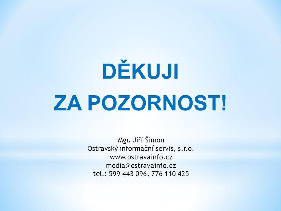Mgr. Jiří Šimon Ostravský informační servis, s.r.o.