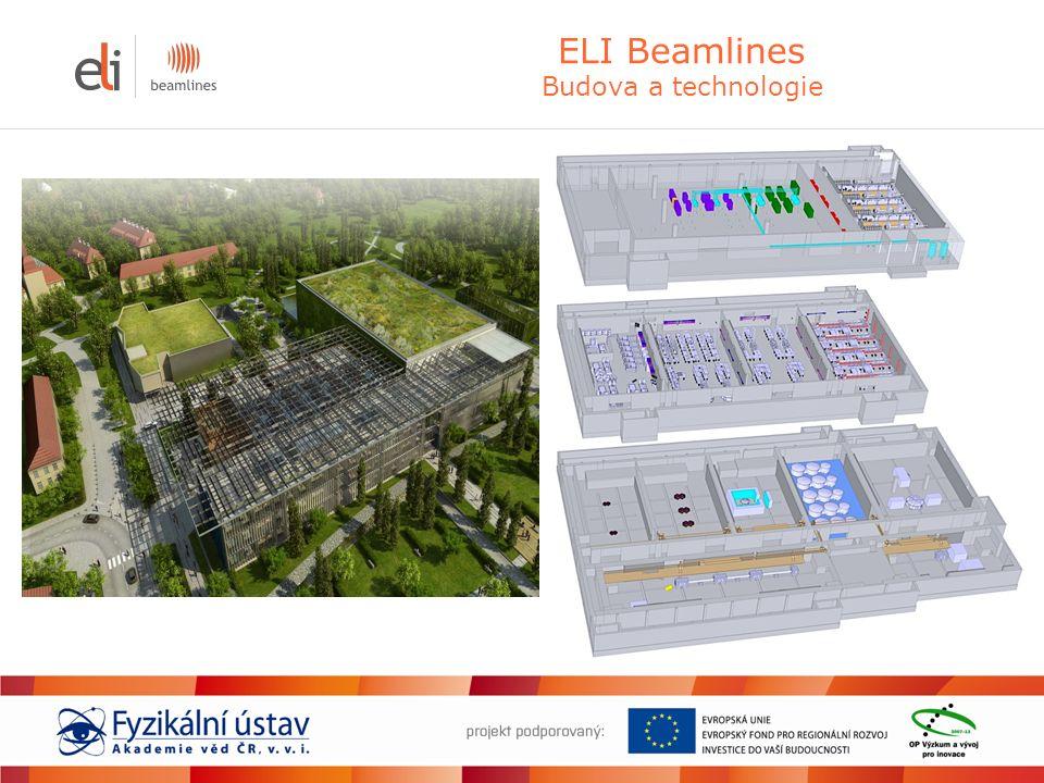 ELI Beamlines Budova a technologie