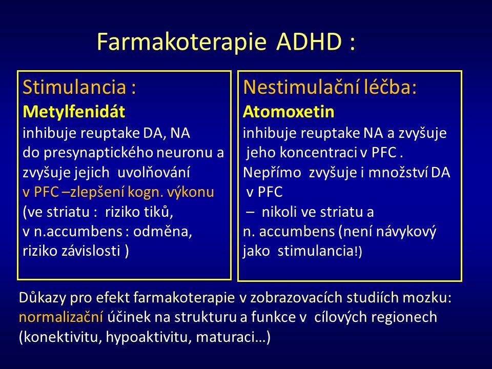Klíčová slova : ADHD/hyperkinetické poruchy Dětský autismus Tikové poruchy Aspergerův syndrom Poruchy chování u dětí Separační úzkostná porucha Suicidální pokusy u dětí a adolescentů