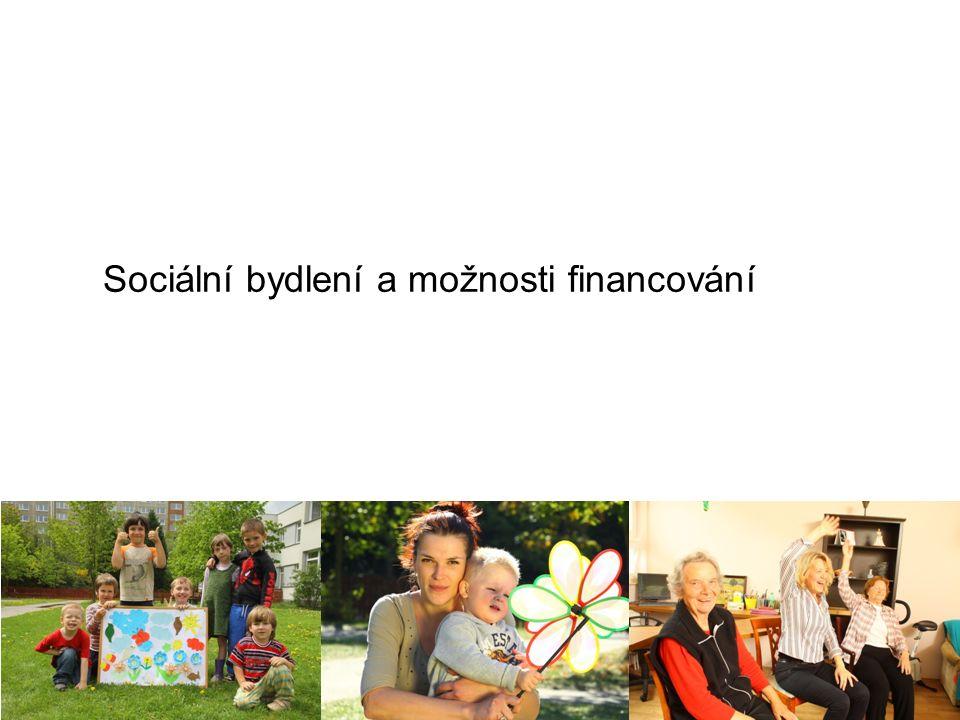 Sociální bydlení a možnosti financování