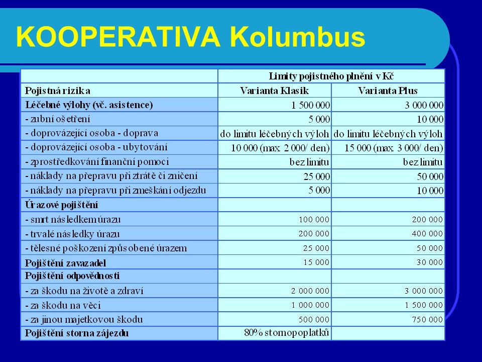KOOPERATIVA Kolumbus