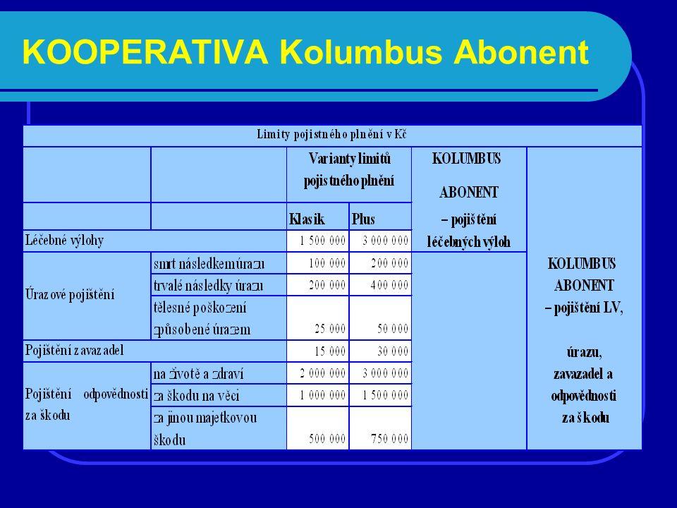 KOOPERATIVA Kolumbus Abonent