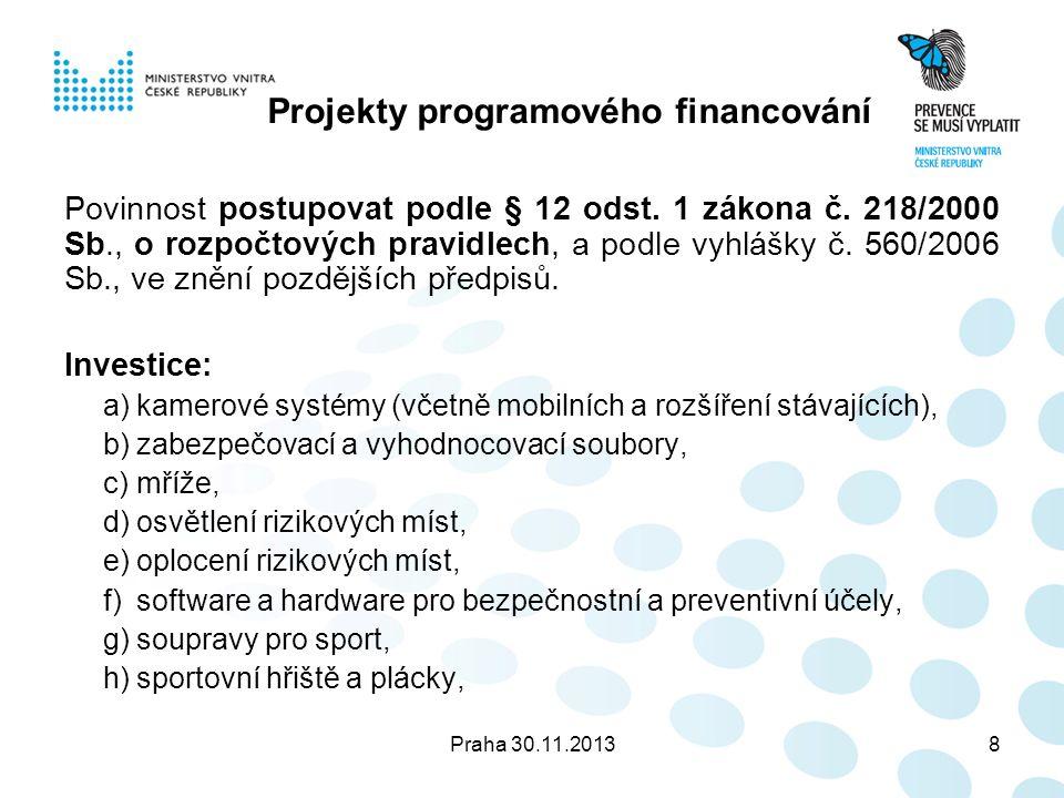 Praha 30.11.201319 Příloha č.