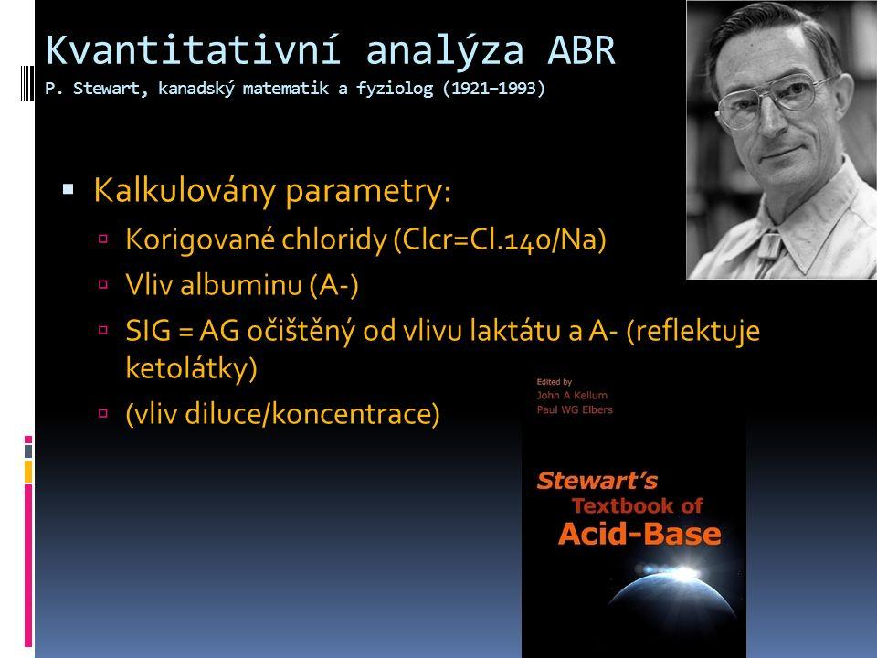 KationtyAnionty SID Cl - HCO3 - Albumin- K +, Mg 2+,Ca 2+ H+H+ OH - Gamblegram Na + SIG