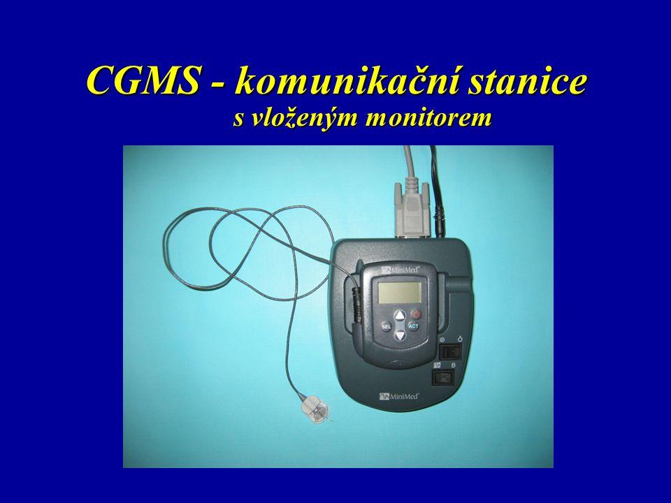 CGMS - komunikační stanice s vloženým monitorem