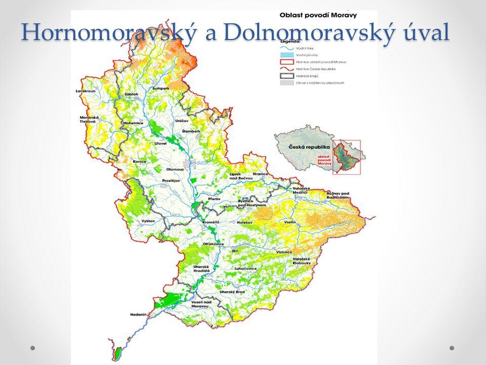 Hornomoravský a Dolnomoravský úval