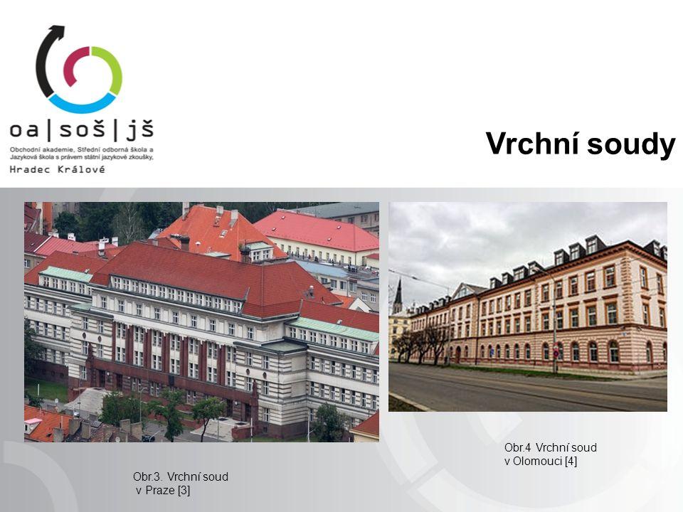 Vrchní soudy Obr.4 Vrchní soud v Olomouci [4] Obr.3. Vrchní soud v Praze [3]