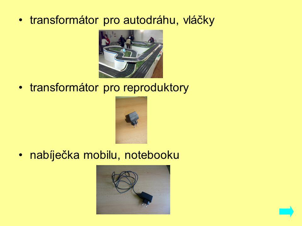 transformátor pro autodráhu, vláčky transformátor pro reproduktory nabíječka mobilu, notebooku