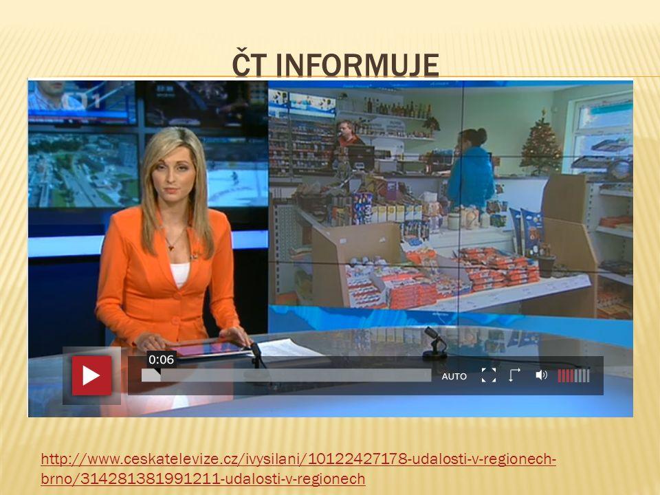 http://www.ceskatelevize.cz/ivysilani/10122427178-udalosti-v-regionech- brno/314281381991211-udalosti-v-regionech