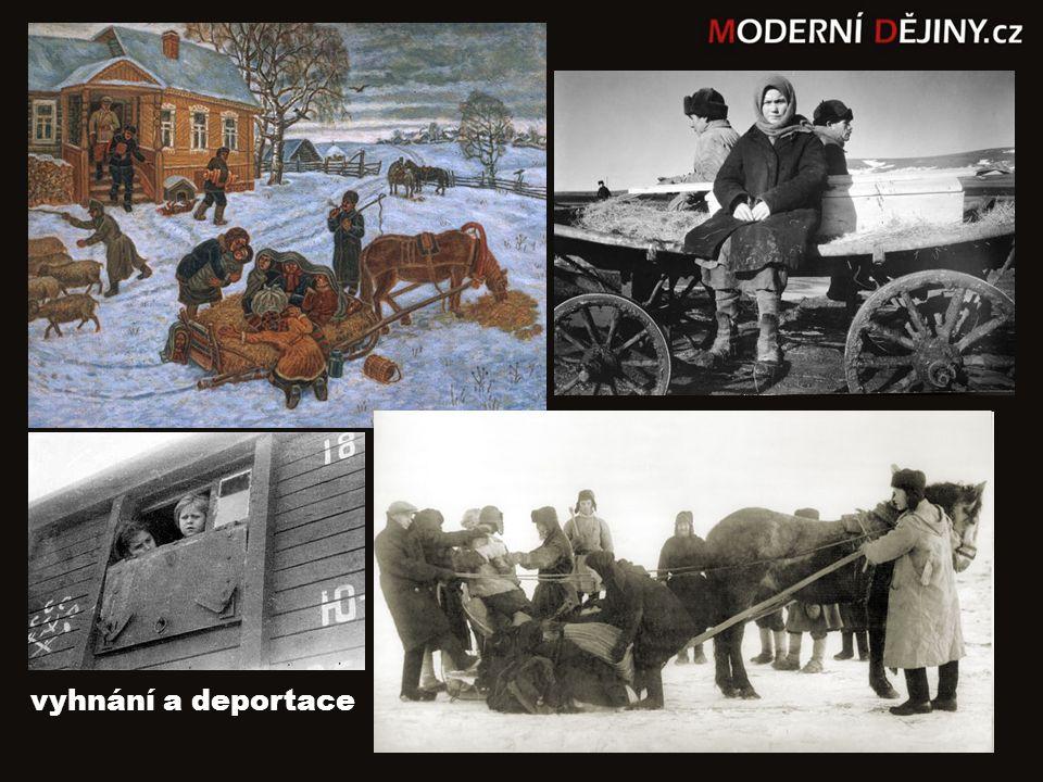 vyhnání a deportace