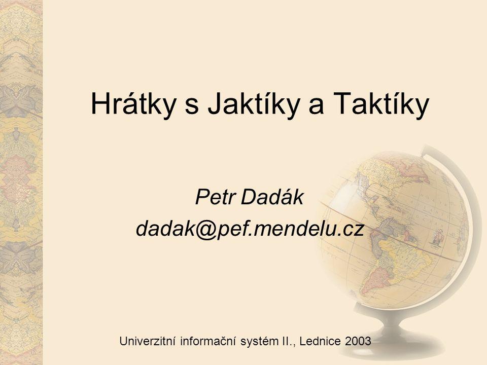1 Univerzitní informační systém II., Lednice 2003 Obsah Stručně o HW Propojení Společné softwarové rysy Bručoun jako fw a loadbalancer Aplikační servery Služby Taktíka7 Civínek Databázový tandem všeználek a neználek Monitoring systému Stávající problémy a dotazy