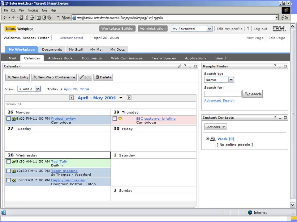 IBM Software Group | Lotus software Lotus Workplace Messaging 2.0