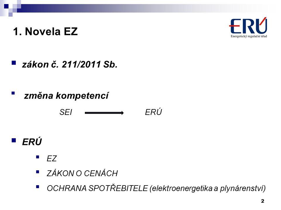 1. Novela EZ zákon č. 211/2011 Sb.
