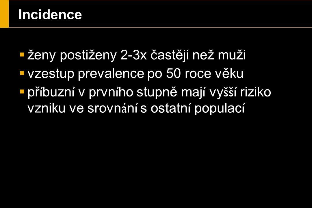 Česk á republika  Vysok á incidence cholelithiasy - 12-21%  Čast á př í čina morbidity