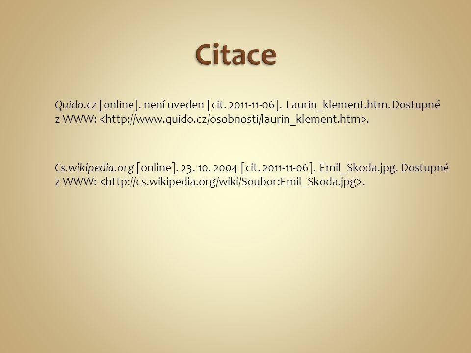 Quido.cz [online]. není uveden [cit. 2011-11-06].