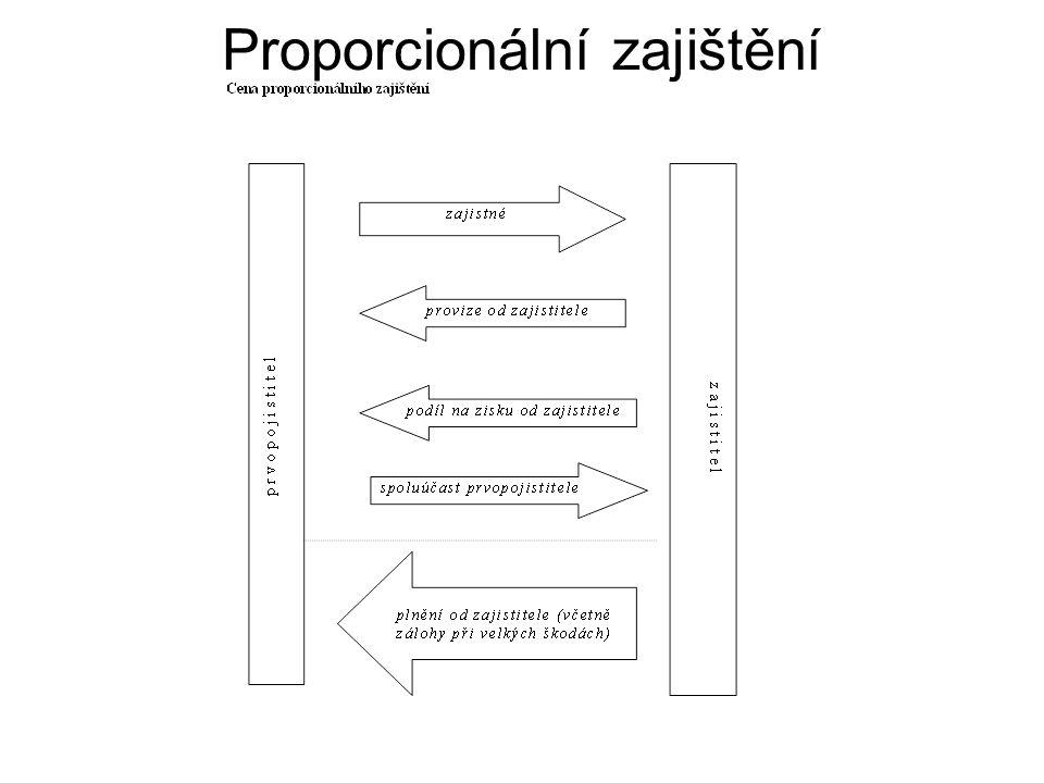 Proporcionální zajištění
