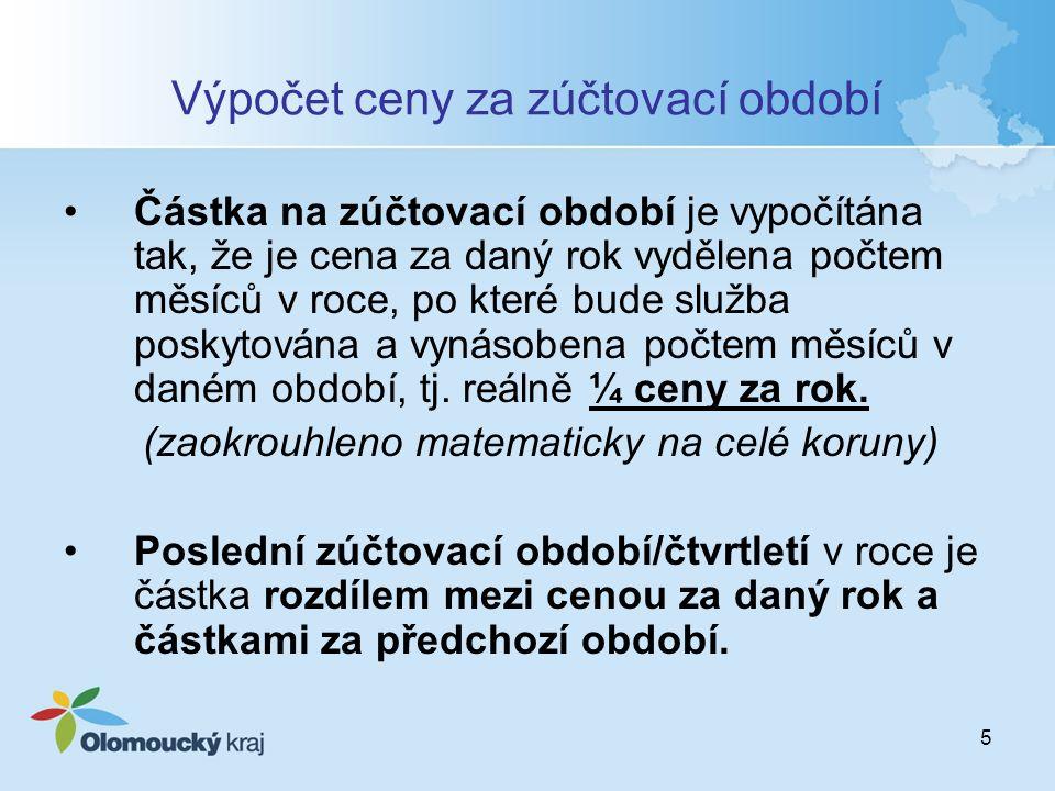 16 Účetnictví Bod 7.10 Smlouvy povinnost vést účetnictví pro Smlouvu ve smyslu zákona č.