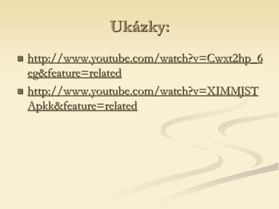 Ukázky: http://www.youtube.com/watch v=Cwxt2hp_6 eg&feature=related http://www.youtube.com/watch v=Cwxt2hp_6 eg&feature=related http://www.youtube.com/watch v=Cwxt2hp_6 eg&feature=related http://www.youtube.com/watch v=Cwxt2hp_6 eg&feature=related http://www.youtube.com/watch v=XIMMJST Apkk&feature=related http://www.youtube.com/watch v=XIMMJST Apkk&feature=related http://www.youtube.com/watch v=XIMMJST Apkk&feature=related http://www.youtube.com/watch v=XIMMJST Apkk&feature=related