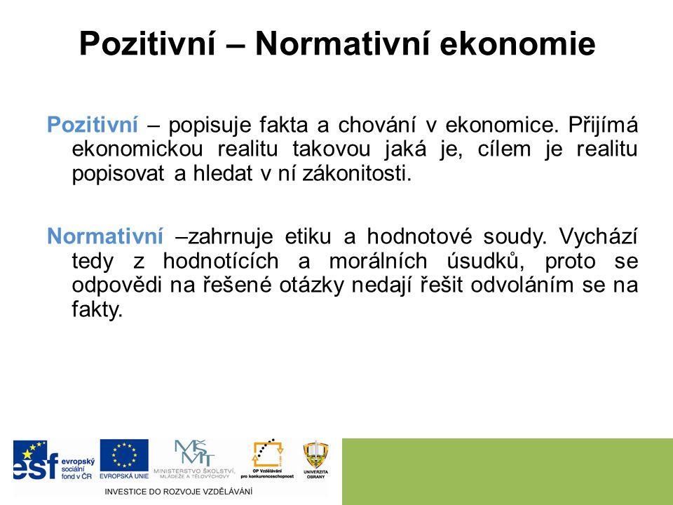 """Mikroekonomie - Makroekonomie Mikroekonomie (z řeckého slova """"mikros = malý) se soustřeďuje na analýzu chování jednotlivých prvků ekonomiky (jednotlivců, firem, domácností); např."""