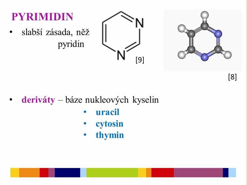 [10] [11] URACIL CYTOSIN THYMIN [12]