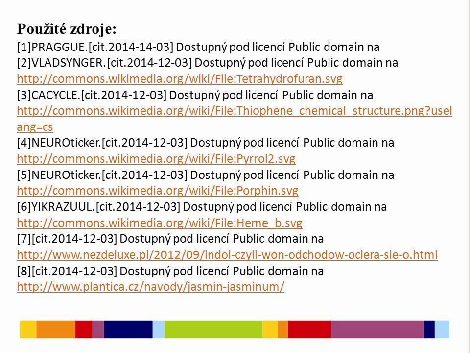Použité zdroje: [1]PRAGGUE.[cit.2014-14-03] Dostupný pod licencí Public domain na [2]VLADSYNGER. [cit.2014-12-03] Dostupný pod licencí Public domain n